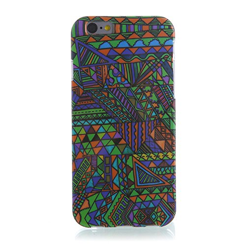 "RE:CRON® iPhone 6 (4,7"") Handy Schutzhülle Case Cover Motiv – Tibet Muster"