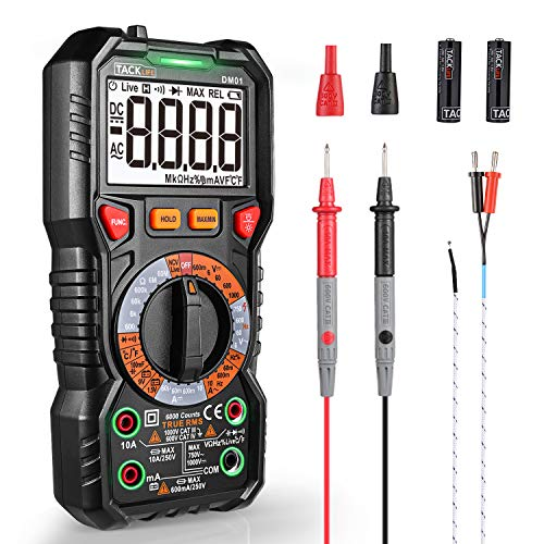 Digital Multimeter TRMS 6000 Counts