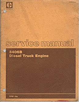 3406b diesel truck engine service manual caterpillar amazon com books rh amazon com 3406b cat engine manual tidbit 3406b cat engine manual disassemble