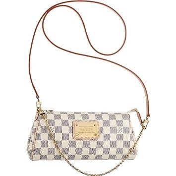 4715a0cc2b09 Amazon.com   Louis Vuitton Eva Clutch N55214   Cosmetic Tote Bags   Beauty
