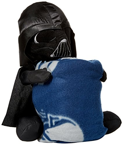 The Northwest Company Officially Licensed NFL Dallas Cowboys Co Star Wars' Vader Hugger with Fleece Throw Blanket Set for $<!--$28.84-->