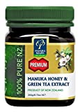 Manuka Health - Premium Manuka Honey with Green Tea Extract, Product of New Zealand, 8.8 oz (250 g)