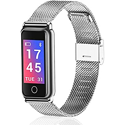 SJUTALR Smart band Blood pressure Heart rate monitor Smartband Fashion Fitness Tracker Smart wristband For Android and IOS Estimated Price £43.98 -
