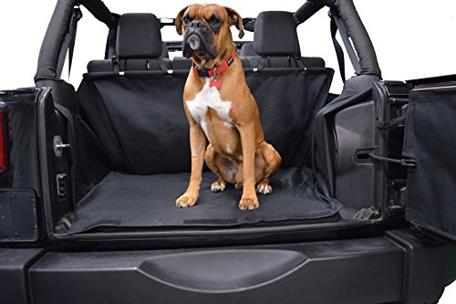 Trench Liner (Dirtydog Cargo Liner for 2007-2014 Jeep Wrangler Unlimited JK without factory subwoofer 2015-2017 All J4CLNS0717)