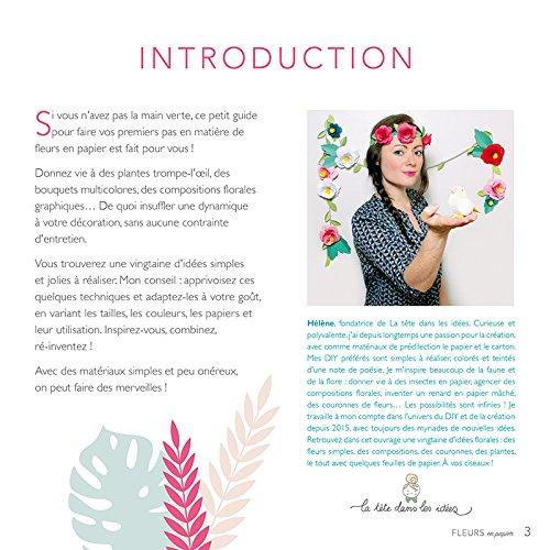 Amazon.fr - Fleurs en papier - Helene Jourdain - Livres 120e443077fd