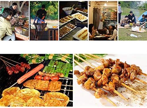 CHUIX Barbecue Au Charbon Barbecue, Barbecue Fumeurs sur L'extérieur Barbecue Au Charbon, Portable Barbecu, L'émail Poulie Est Amovible Et Barbecue Portable, Noir