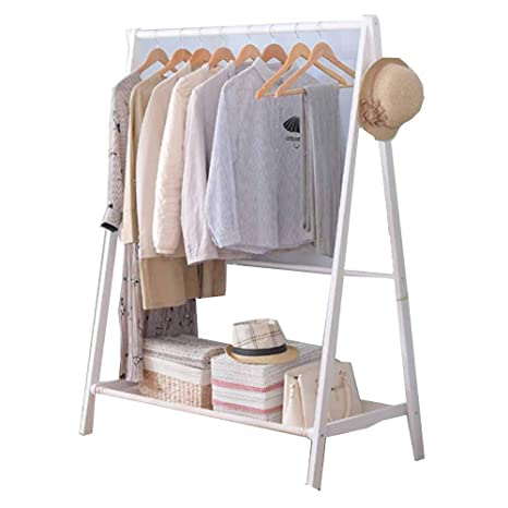 LM-Coat rack Perchero pie Perchero, Plegable Percha Simple ...