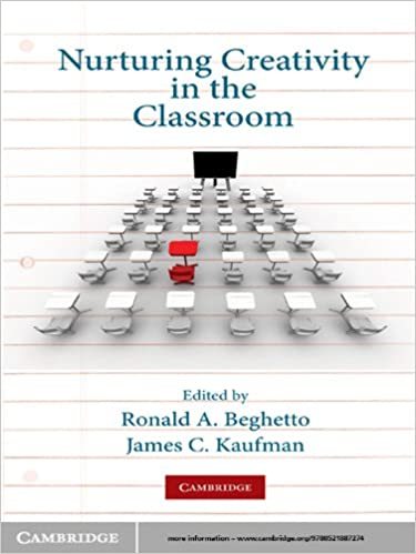 Image result for Nurturing Creativity in the Classroom by Ronald A. Beghetto