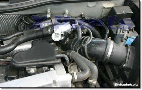Turbo Blow Off Pop Off tipo 1 para un laded Ruck hasta 1,00 Bar Serie turbos 1.8T 1.4 tjet: Amazon.es: Coche y moto