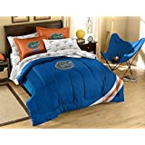 NCAA / MLB / NBA / NFL-Full Size Applique 7 pc Comforter Set-Many different Teams! (Florida Gators, Full Size)