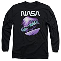 NASA Come Together Unisex Adult Long-Sleeve T Shirt for Men and Women