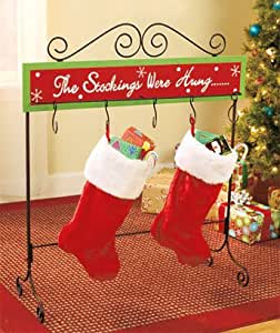 The Stockings Were Hung Christmas Stand