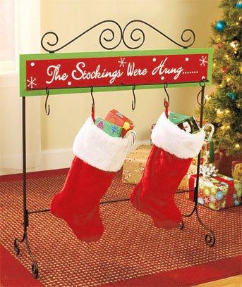 Frame Christmas Stocking Holder - 5