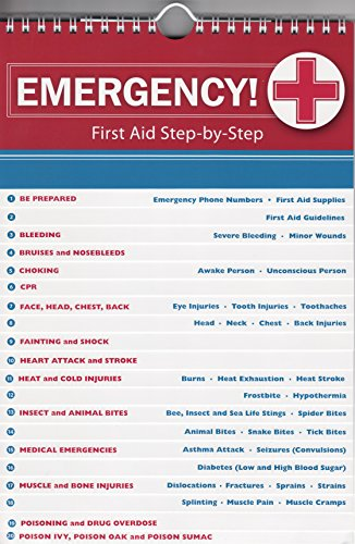 Emergency! First Aid Step-by-Step Flip Chart Guide ()