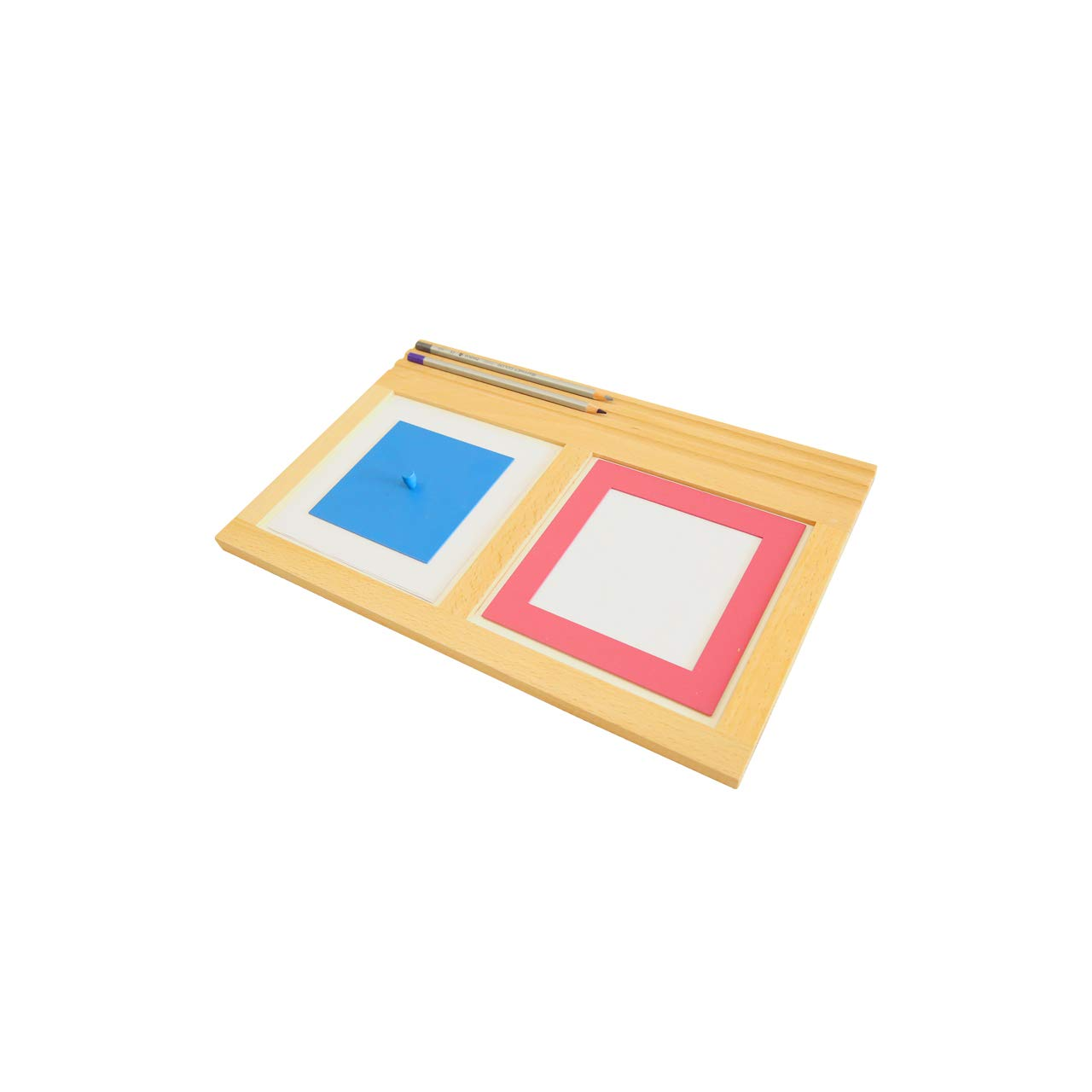 MONTESSORI OUTLET Metal Insets Tracing Tray by MONTESSORI OUTLET