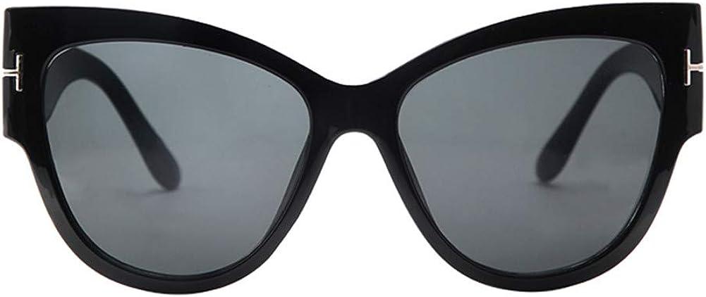 hfwh Gafas De Sol Lady Oversized Frame Gafas De Sol Retro