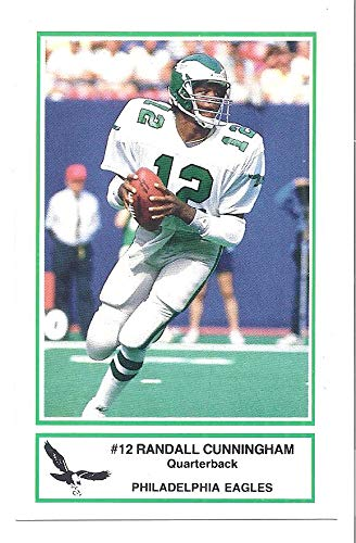 2f996c0576e RANDALL CUNNINGHAM Philadelphia Eagles Football 1986 Police SGA Rookie Card  #10 RC at Amazon's Sports Collectibles Store