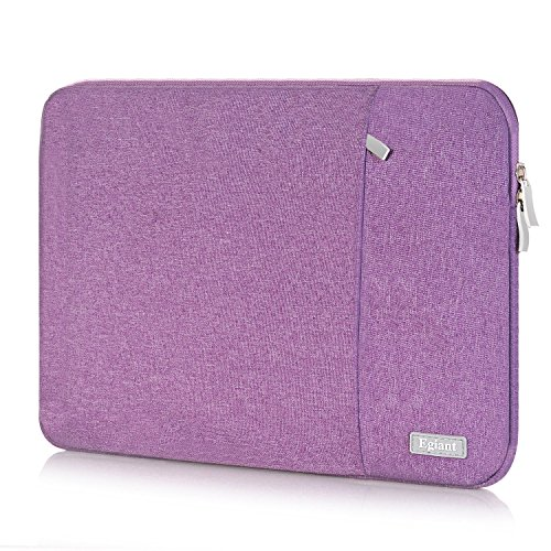 Laptop Sleeve Case 13.3 inch, Egiant Fabric Waterpoof Protective Bags for Macbook Pro 13 /Mac Air 13/Surface Book/HP Stream 13 & 12.5-13