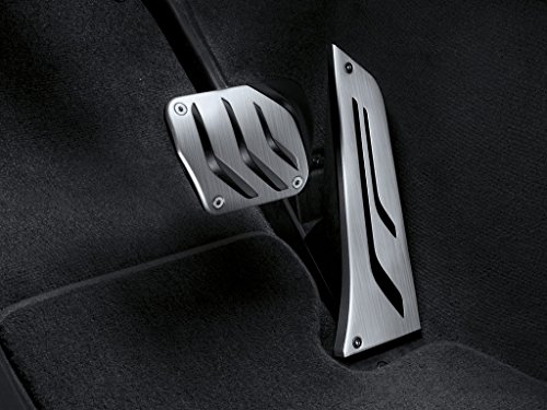 BMW M Performance stainless steel pedal covers (Bmw M Performance Parts)