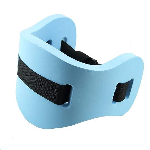 XMLIFETO - Cinturón Flotador para Natación, Tren, Equipo de Flotación, Soporte Flotante para Cinturón para Adultos (Azul): Amazon.es: Deportes y aire libre