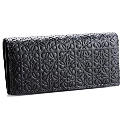 LOEWE(ロエベ) 財布 メンズ REPEAT 2つ折り長財布 BLACK 10755978-0030-1100 [並行輸入品] B07FY3GN79