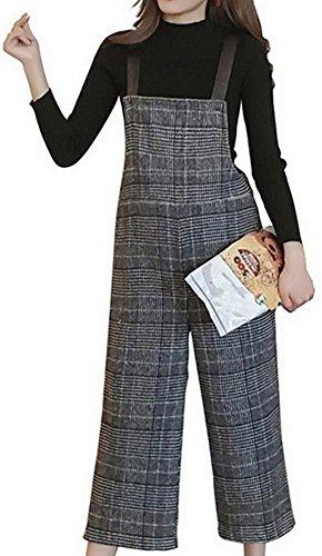 Wide Leg Wool Pant Suit - 1