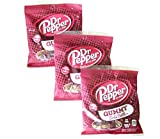 Dr. Pepper Gummy Soda Bottles - Made With Real Dr. Pepper 4.5 Oz - Three (3) - Packs - 4.5 OZ Packages