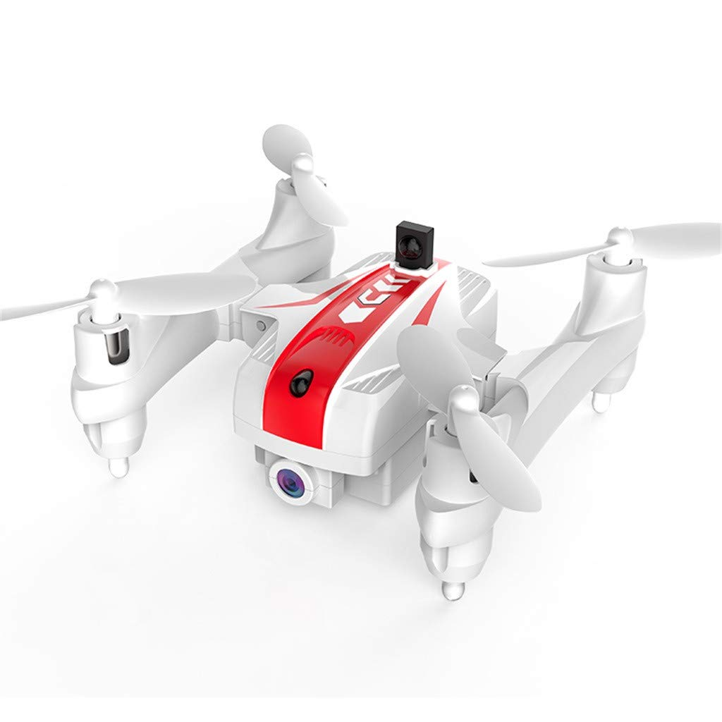 Likero Remote Control Drone AG-03S Foldable 720P Quadcopter,Headless 360 Mini Aircraft Battle Flips (Quadcopter (with Battery) x2) by Likero (Image #4)