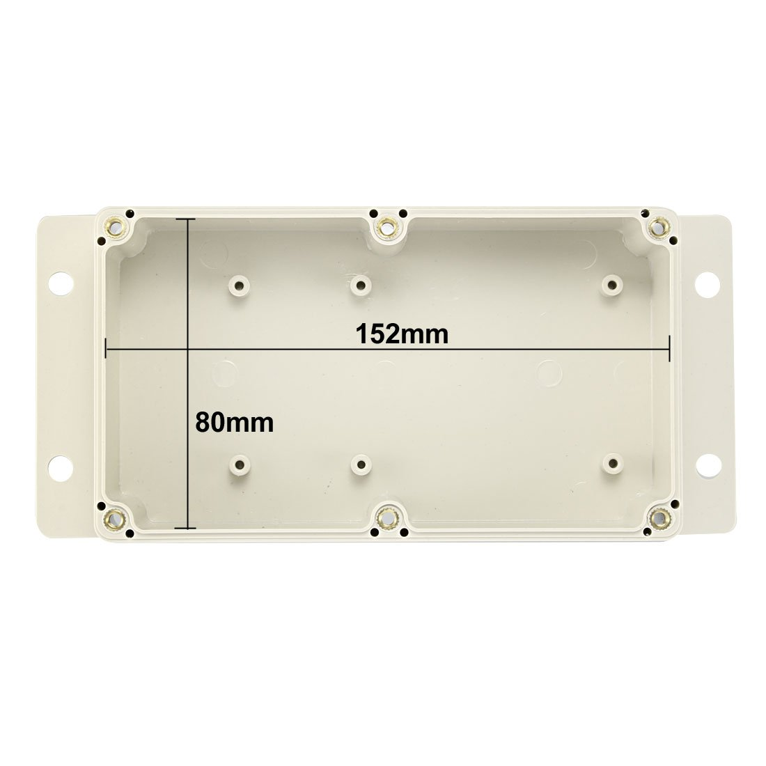 Sourcingmap 115 x 85 x 35mm Electronic Plastic DIY Junction Box Enclosure Case Gray