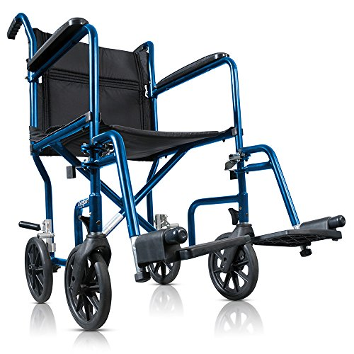 Hugo Boss Portable Transport Wheelchair with Detachable F...