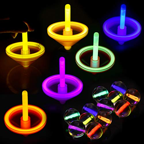 Halloween Glow Party - 102PCs Glow Stick Party Favors Bulk(Including