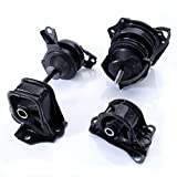 98 accord front motor mount - 4Pcs Engine Motor Mount Kit for 98-02 Honda Accord 2.3L 4Cylinder Auto AT Automatic Transmission Trans - 1998 1999 2000 2001 2002