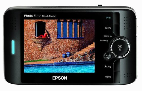Epson P-4000 80GB 3.8-Inch LCD Screen Multimedia Storage Drive, Viewer and Audio/Video Player