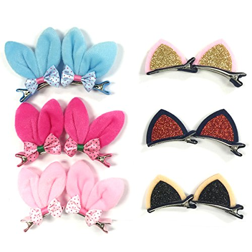 Little Baby Kitty Costume (Wrapables Dress Up Bunny & Kitty Ears Hair Clips (12 Set))