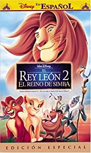 The Lion King II: Simba's Pride [USA] [VHS]