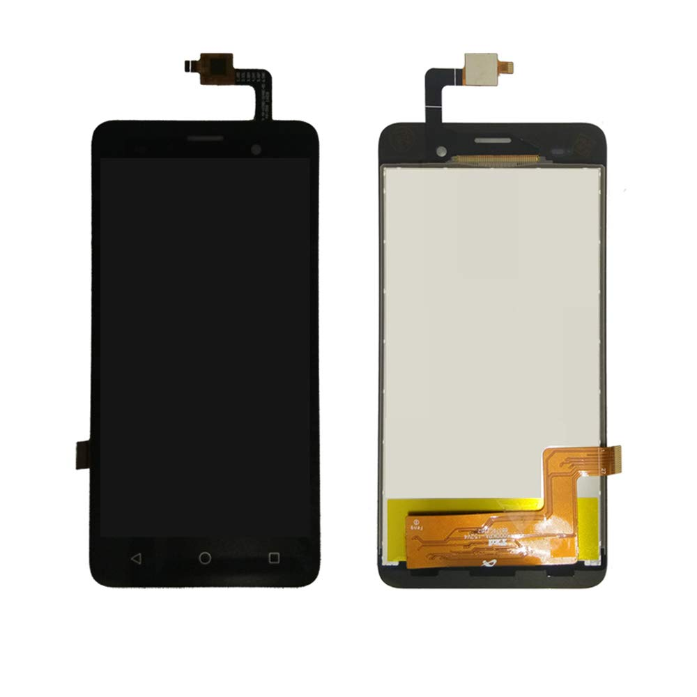 JayTong LCD Display & Replacement Touch Screen Digitizer Assembly with Free Tools for Wiko Jerry Black by JayTong