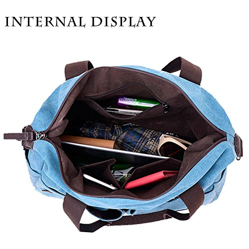 02 Handbags Women Top Hobo Canvas Handle Purse Bags Tote Men Messenger Casual Shopper Big Shoulder Khaki Vintage 6wfaHxf