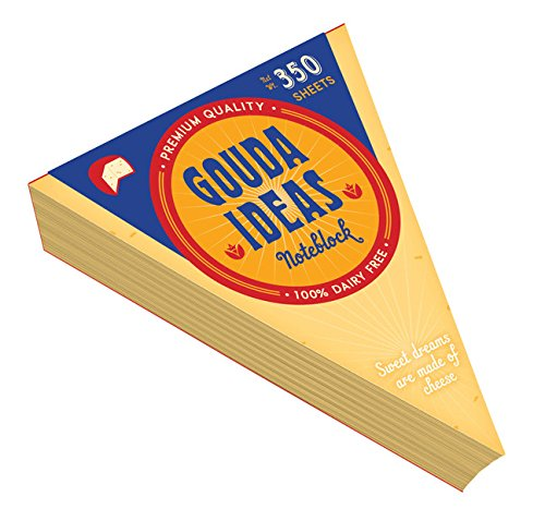 Gouda Ideas Noteblock by Chronicle Books