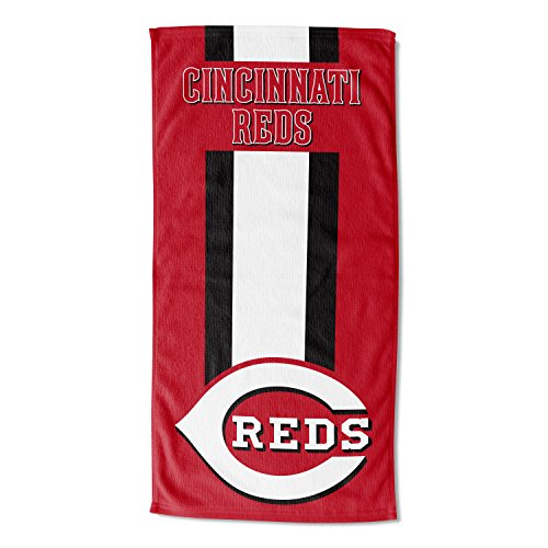 Officially Licensed MLB Cincinnati Reds Zone Read Beach Towel, 30