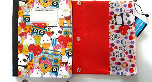 Jot Wide Ruled 100 pg Composition Notebooks Primary Colors Set of 4. ()