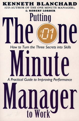 putting the one minute manager to work essay Item information:author : blanchard, kenneth product information:title: putting one minute manager to work (the one minute manager) publication date : 25/07/1994 a copy that has been previously owned | ebay.