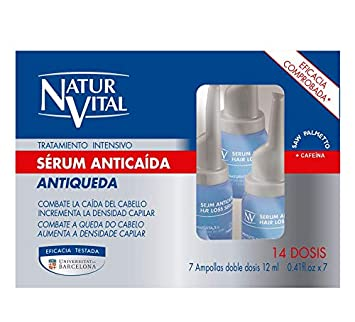 NaturVital Sérum Tratamiento Intensivo Anticaída 84ml