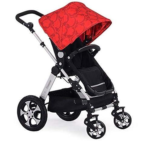 Cochecito de bebé Sillones de bebé Carretilla de alto perfil Amortiguador de luz Plegable Se puede sentar Se puede dormir Se puede dormir Carro de bebé: ...