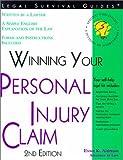 Winning Your Personal Injury Claim, Evan K. Aidman, 1572481382