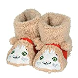 "Department 56 Snowpinions ""Cat Slippers, Child Size Medium 9-10, Multicolor"