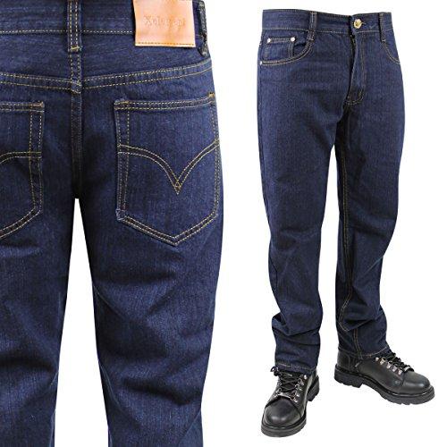 Xelement MDP440 Royal Mens 34in Inseam Dark Blue Denim Jeans - 38x34 - Buy Online in UAE ...