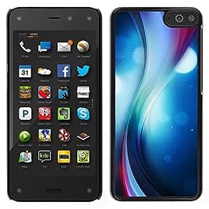 LECELL--Funda protectora / Cubierta / Piel For Amazon Fire Phone -- Remolino del color --