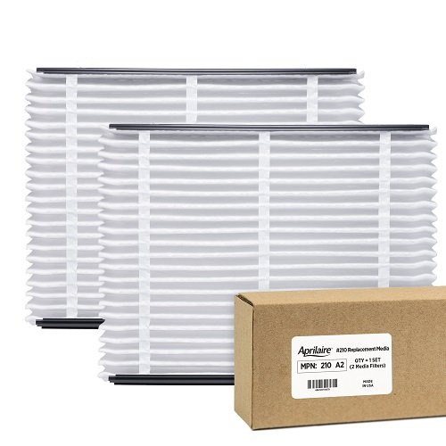 Aprilaire 210 Air Filter for Air Purifier Models 1210, 2210, 3210, 4200; Pack of (Models Replacement Air Filter)