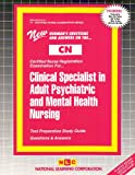 Clinical Specialist in Adult Psychiatric and Mental Health Nursing, Rudman, Jack, 0837361141