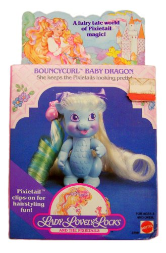 Lady Lovely Locks and the Pixietails BOUNCYCURL BABY DRAGON (Lady Lovely Locks)